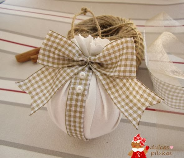 dulces pilukas adornos de navidad reciclados