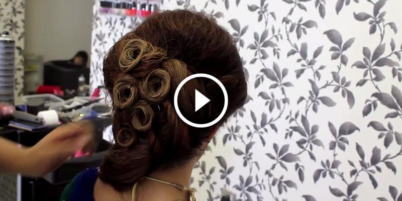 Bridal Hairstyles For Wedding Or Reception - B & G Fashion