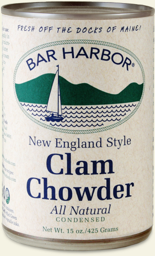 Bar Harbor New England clam chowder