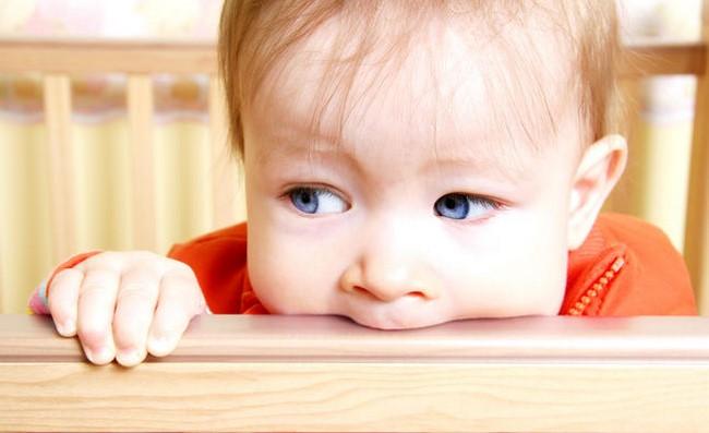 Trẻ con cũng rất hay cắn người và đồ vật