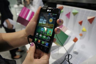 [MWC 2012] LG Optimus 3D Max estreia na MWC
