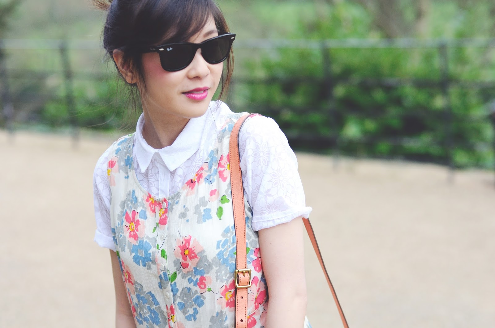 Fashion Blog Uk, primark floral dress, how to layer up a dress for spring summer