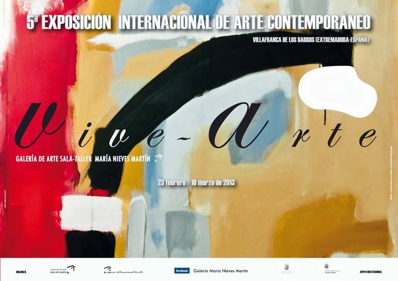 5ª Exposición Internacional de Arte Contemporáneo de Extremadura VIVE-ARTE 2013