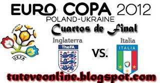 Inglaterra vs Italia en vivo