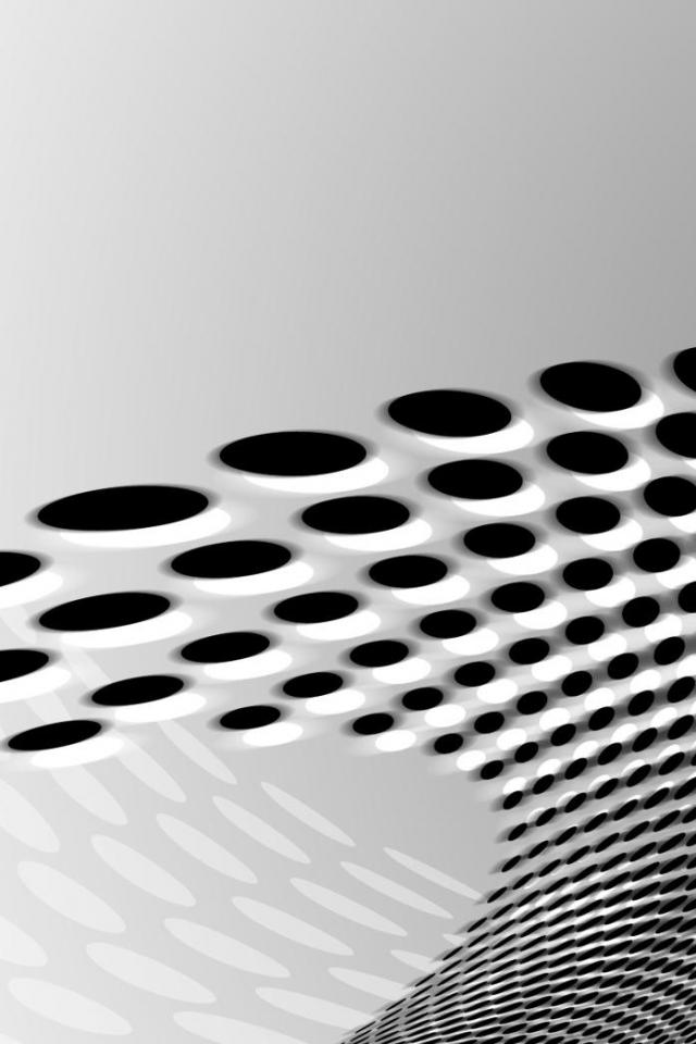 Black White Dots Iphone 4 Wallpaper Pocket Walls Hd Iphone