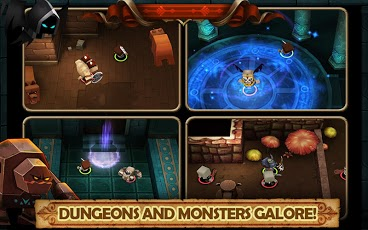 Tiny Legends: Heroes MOD APK DATA(UNLIMITED GOLDS) ~ My Droid Arena