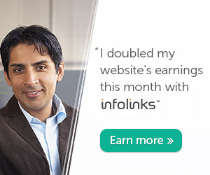 Start Earning with Infolinks!