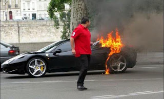 Latest Ferrari Cars in Troubles and Damaging Moments