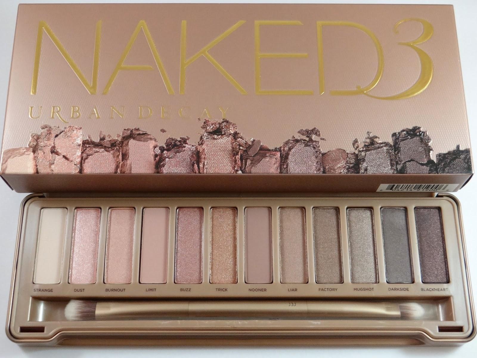 Urban Decay Eyeshadow Naked3 strange,dust,burnout,limit