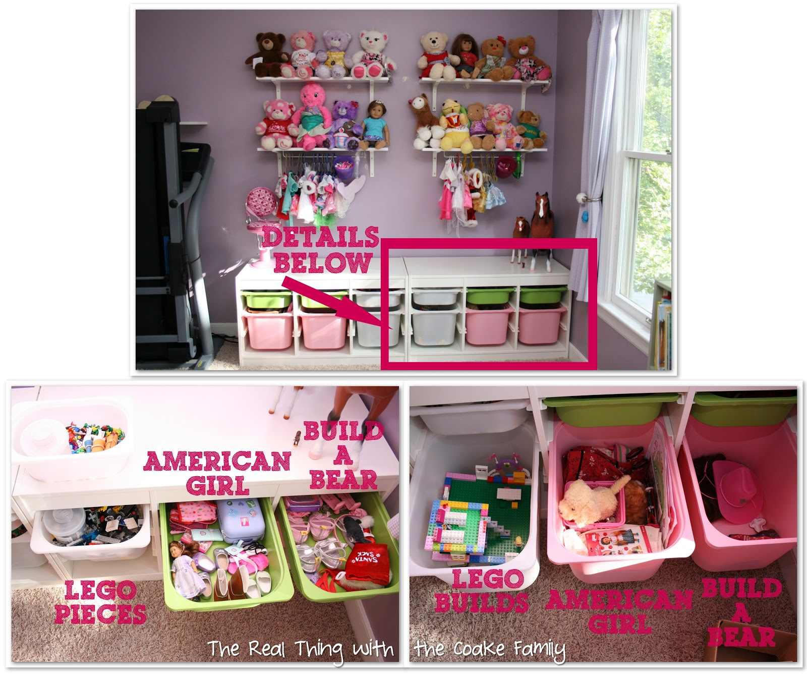 Exceptionnel Toy Storage: Kidu0027s Playroom Reorganization   The Real Thing With The Coake  Family