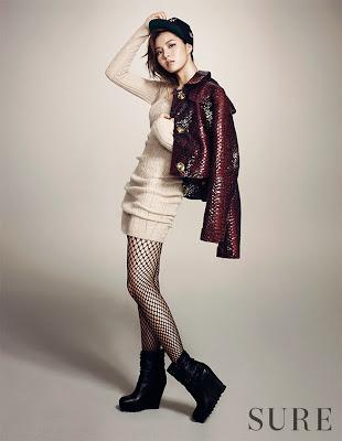 Kim Ye Rim - Sure Magazine November Issue 2013