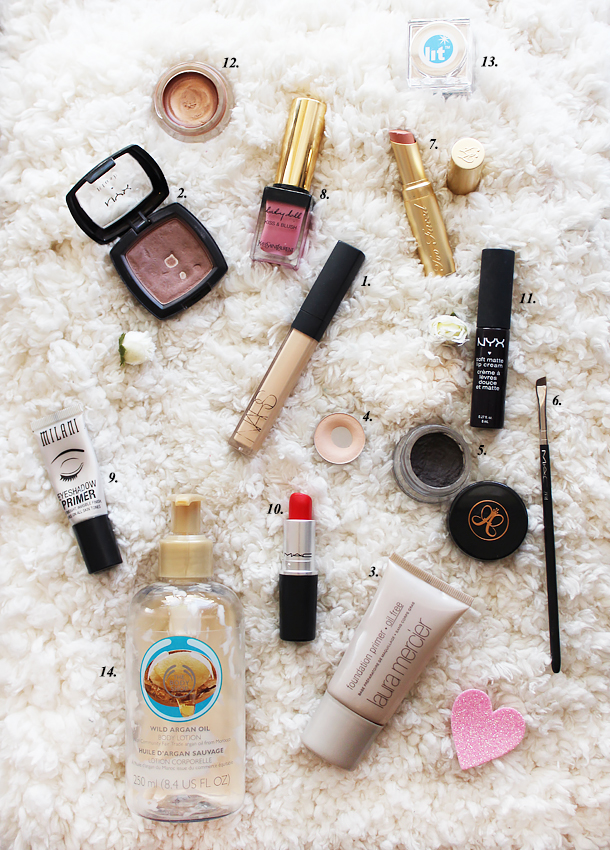 best products 2014 beauty mac the body shop laura mercier anastasia