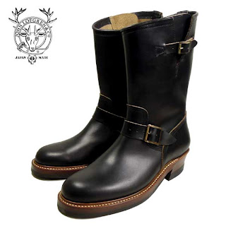 John Lofgren &amp; Co. Engineer Boots (BLACK HORWEEN CXL)