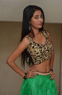 Actress Moumita  Stills at Ippatlo Ramudila Seethala Evaruntaarandi Babu Audio Launch  25287.jpg