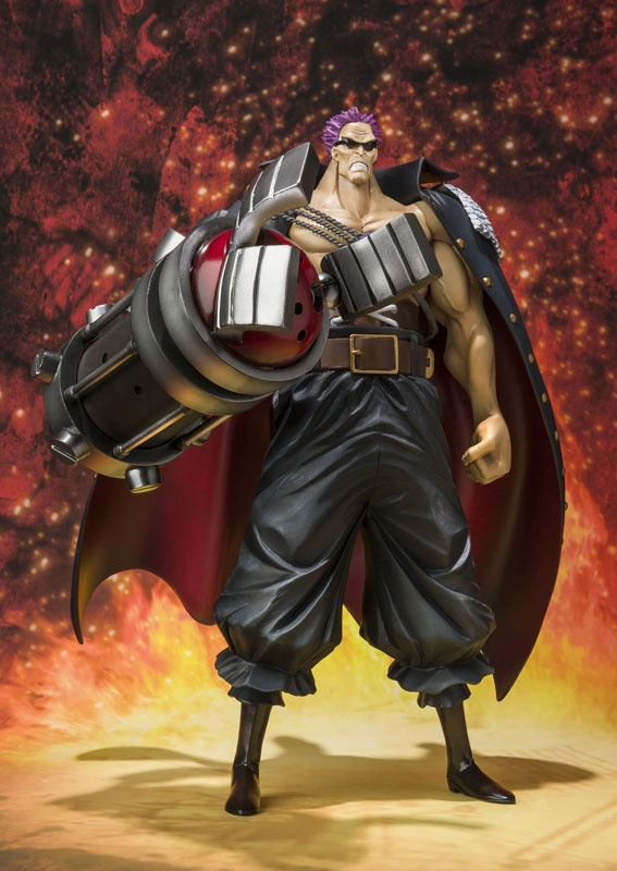 Figure do Z - One Piece filme Z