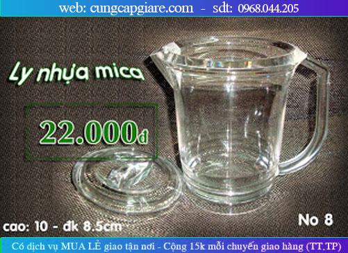 Ly nước, bình rót nước, Ca nhựa TRONG, Ly nhựa Acrylic