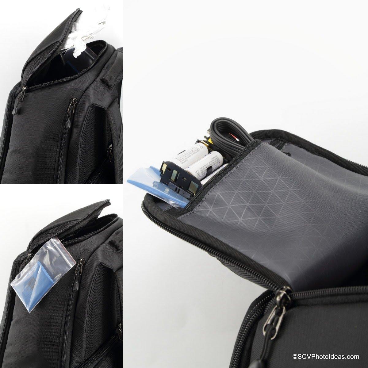Case Logic DSB-103 top compartment zippered lid pocket