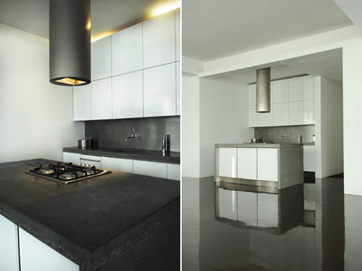 minimalist interior design for kitchen