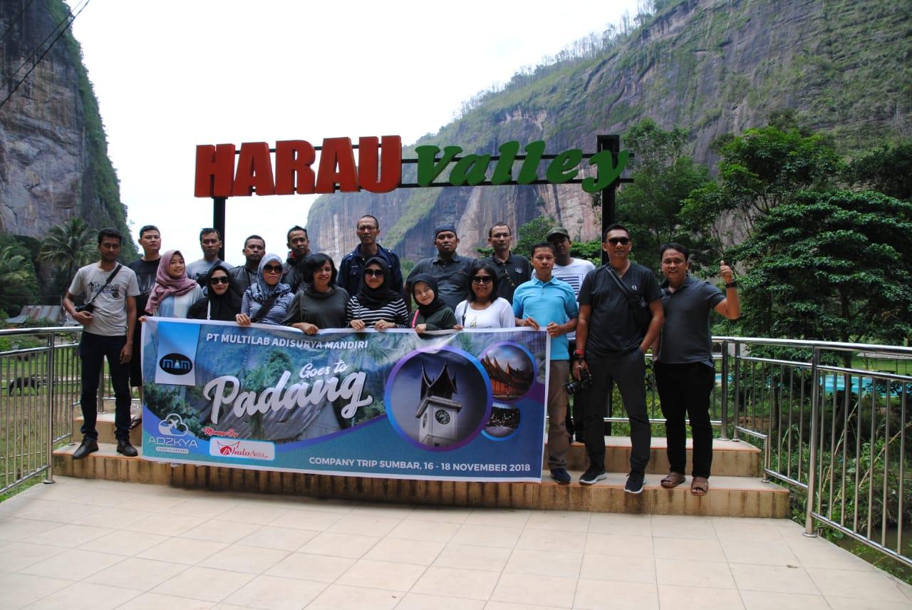 PADANG TOUR 16-18 NOV 2018 WITH PT MULTILAB ADISURYA MANDIRI