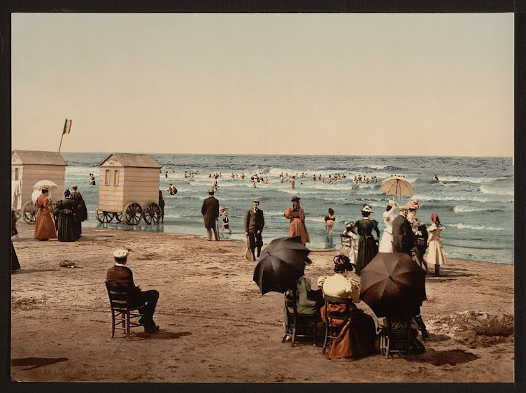 Bathing Machines 1893.