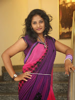 New Actress Madhavi glam pics in saree-cover-photo