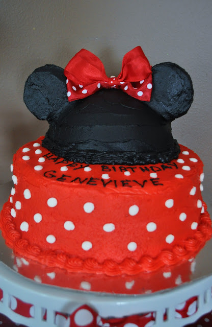 Classic Minnie Mouse Cake