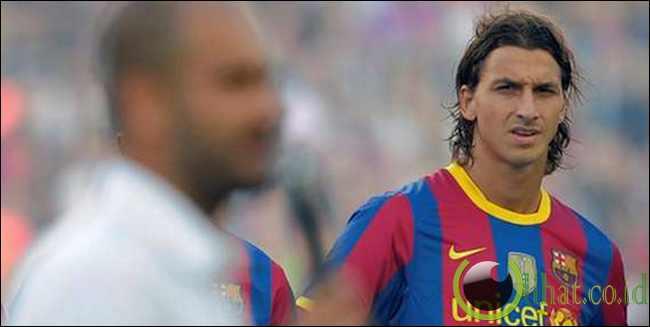 Zlatan Ibrahimovic (Barcelona FC ke AC Milan)