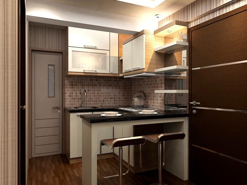 Desain Interior Dapur Apartemen Minimalis