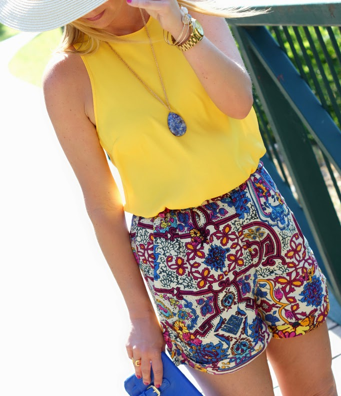 Printed Shorts for Summer