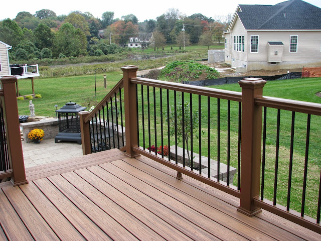 Designs By Pinky The Big Reveal Deck Patio And Pond