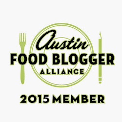 Member of Austin Food Blogger Alliance 2015