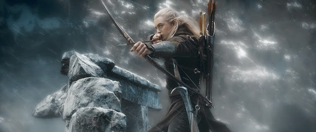 Legolas bow arrow hobbit 3 battle of five armies
