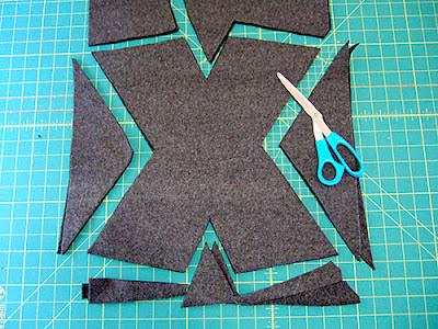 Almohadas en forma de letras
