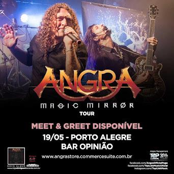 Angra: Magic Mirror Tour em Porto Alegre