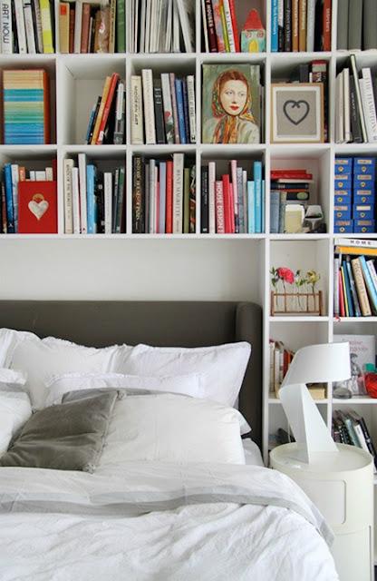 New  Shelves On Pinterest  Bed Shelves Headboard With Shelves And Heads