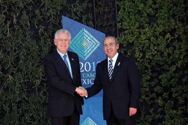 El primer ministro italiano Mario Monti