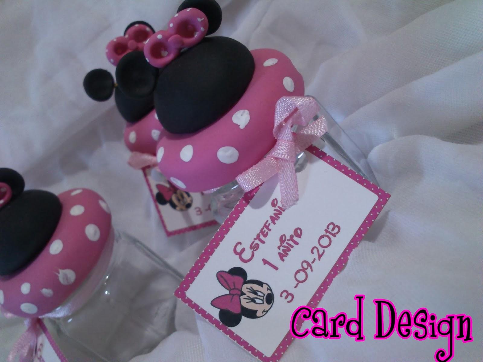 Card Design: Carameleras de vidrio, Minnie Estefania♥