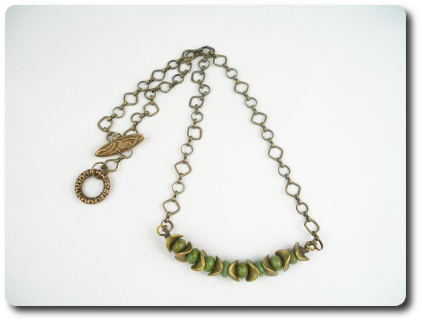BSBP 2013 Brass Necklace
