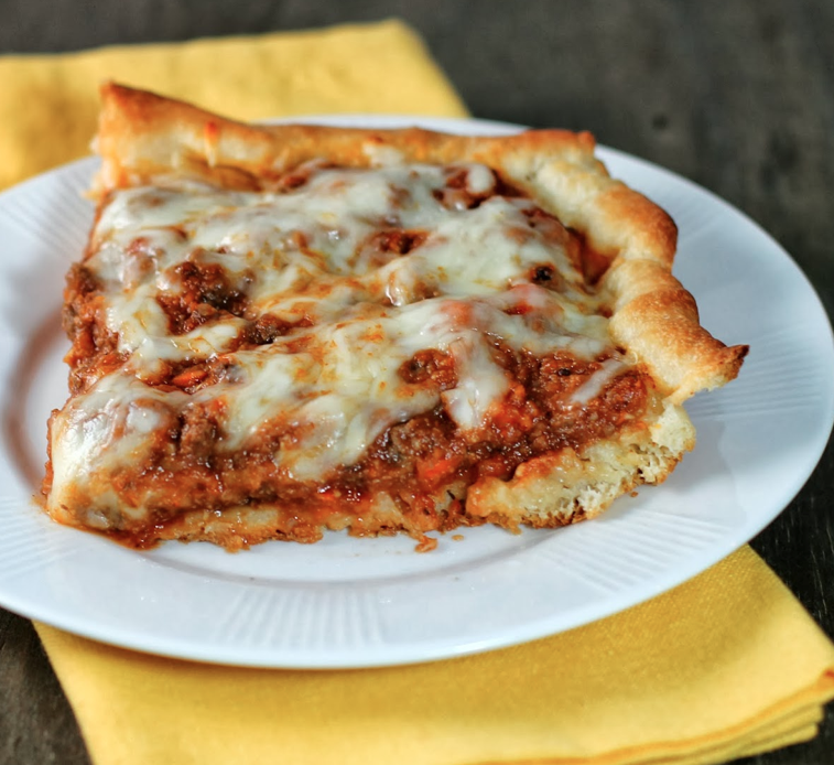 Weight Watcher's Deep-Dish Pizza Casserole Recipe