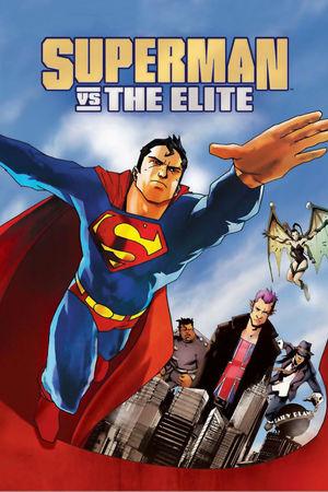 Poster Superman vs. The Elite 2012