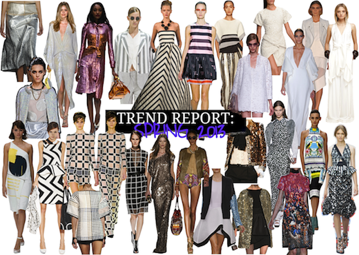 stand out stylish fashion trends lente zomer 2013
