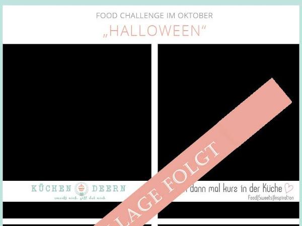 [Foodchallenge] Halloween-Gruselei -  vegane Schokoteilchen