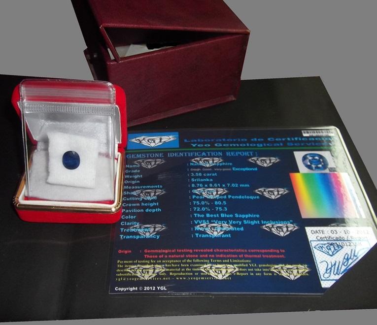 Contoh Paket Batu Permata Safir