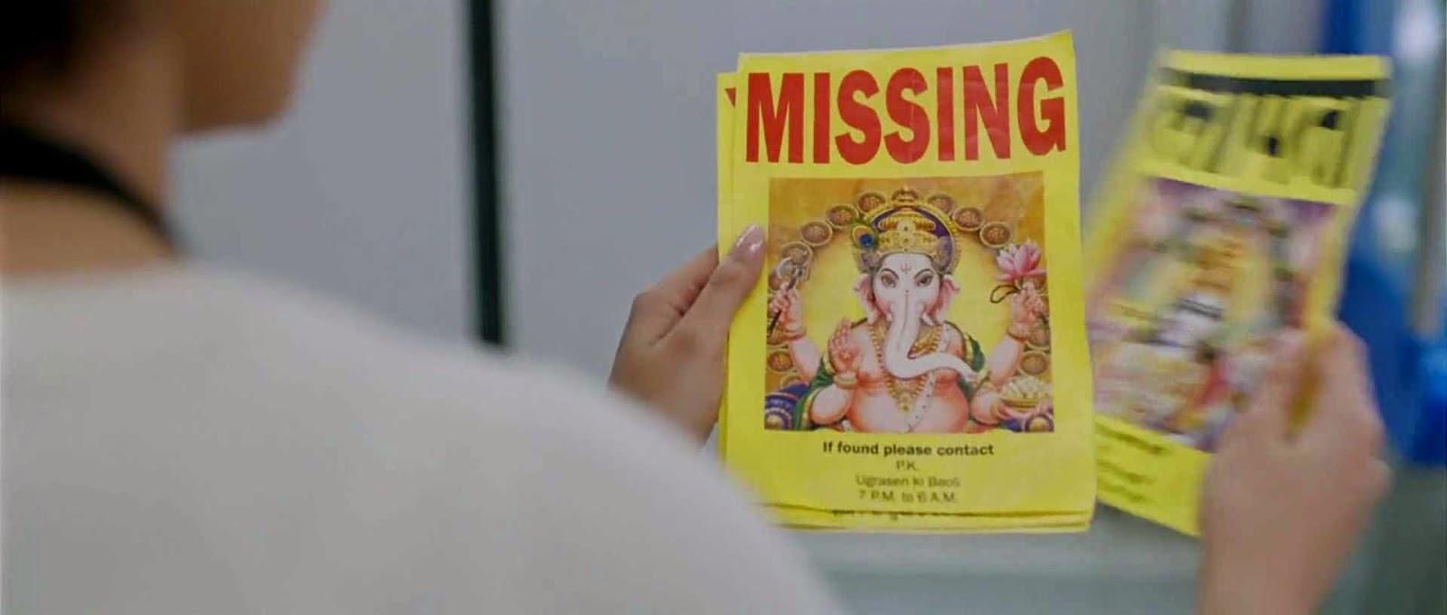 Peekay sebarkan brosur mencari Tuhan yang hilang