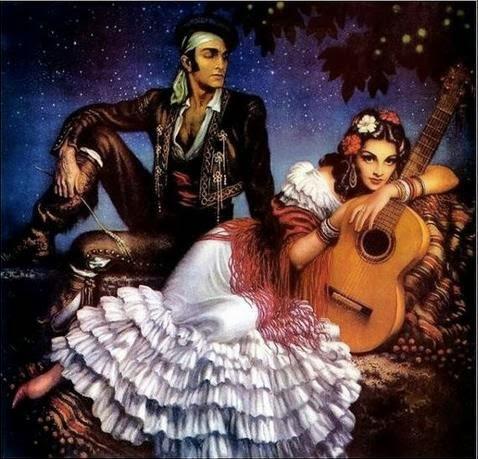 Magia cigana do Amor eterno.
