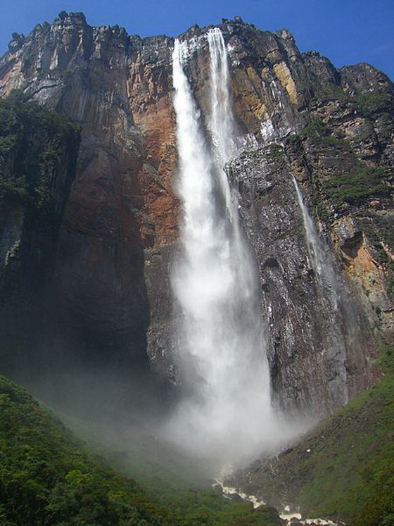 12 Highest Waterfalls In The World Wonders