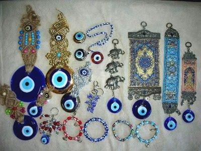 amuletos olho turco