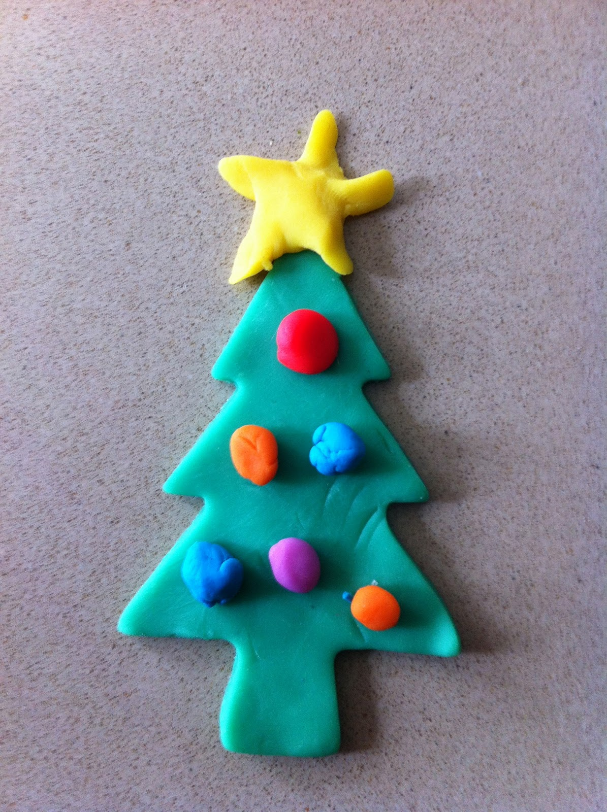 Play Doh Christmas Decorations Christmas Preschool Craft