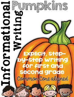 Informational Writing Pumpkin Themed Clever Classroom