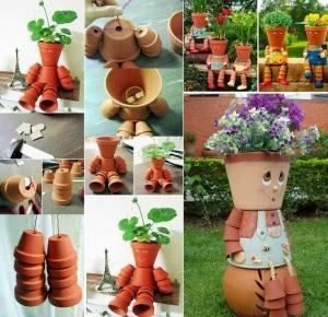 Ideas maceteros originales para jard n - Ideas originales jardin ...